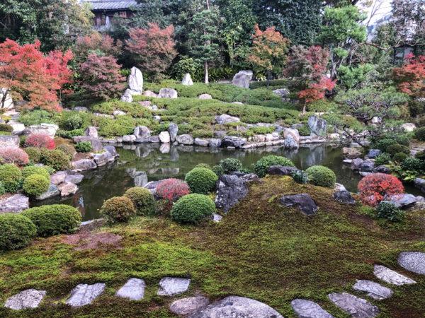 建仁寺 両足院庭園(紅葉)