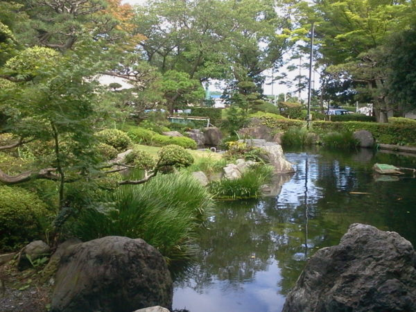 新居図書館庭園 / Arai Library Garden, Kosai, Shizuoka