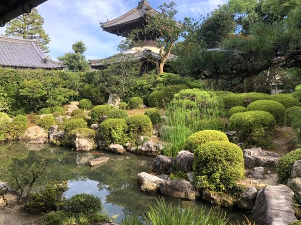 穴太寺庭園