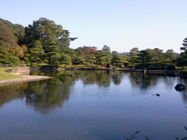 南湖公園 翠楽苑