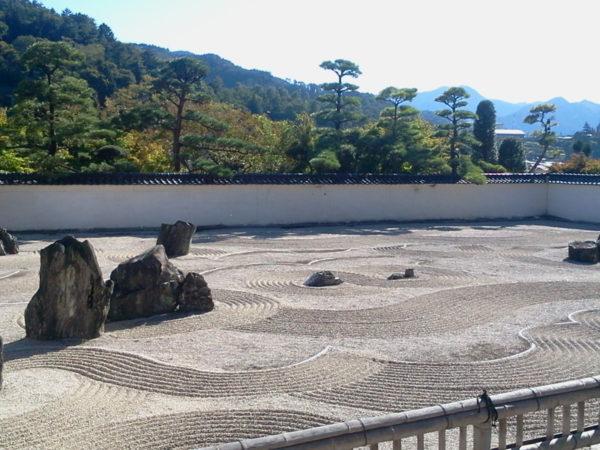 興禅寺庭園 看雲庭 / Kozen-ji Temple Garden, Kiso, Nagano