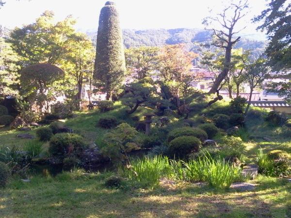 山村代官屋敷庭園(城陽亭庭園) / Yamamura Daikan House Garden, Kiso, Nagano