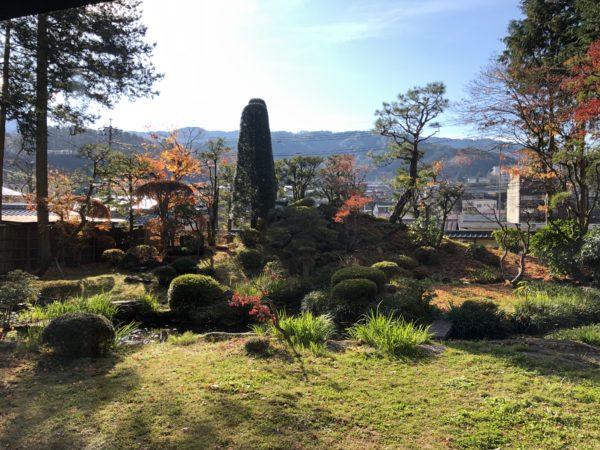 山村代官屋敷庭園(城陽亭庭園)