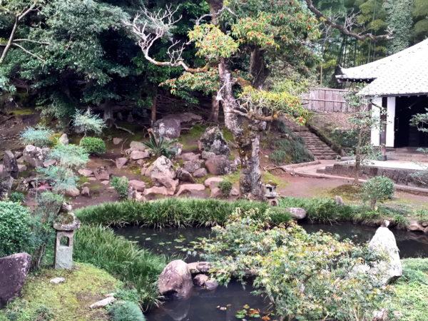 松屋寺庭園 / Shooku-ji Temple Garden, Hiji, Oita