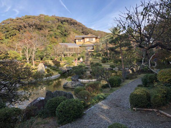 旧吉田茂邸庭園