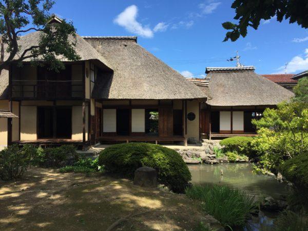 旧横田家住宅庭園 / Kyu-Yokota Samurai House Garden, Nagano