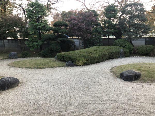 川越城本丸御殿庭園