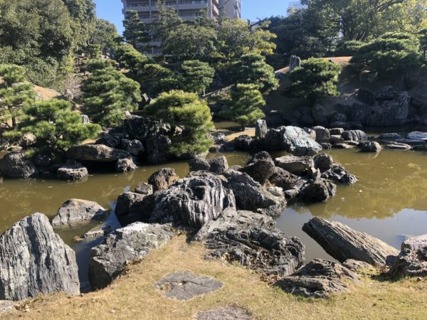 旧徳島城表御殿庭園(千秋閣庭園)