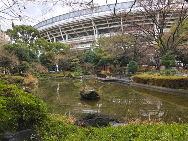 """横浜公園 日本庭園""""彼我庭園"""""""