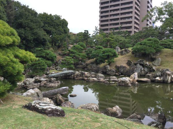 旧徳島城表御殿庭園(千秋閣庭園) / Tokushima Castle Omote-Goten Garden, Tokushima
