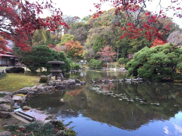 旧南部氏別邸庭園(盛岡中央公民館)