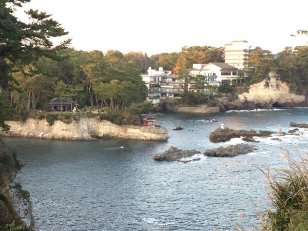 岡倉天心旧宅・庭園及び大五浦・小五浦(六角堂)
