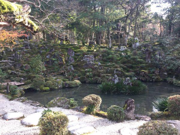 西明寺本坊庭園