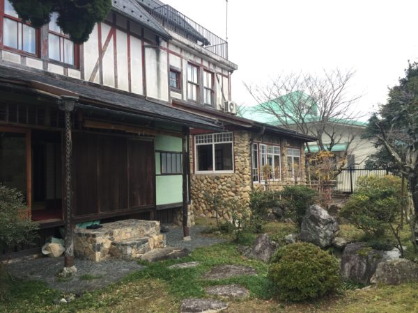 旧伊庭家住宅庭園