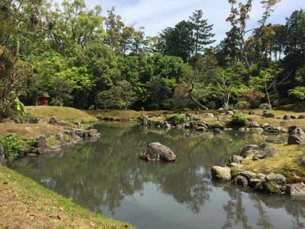 兵主大社庭園