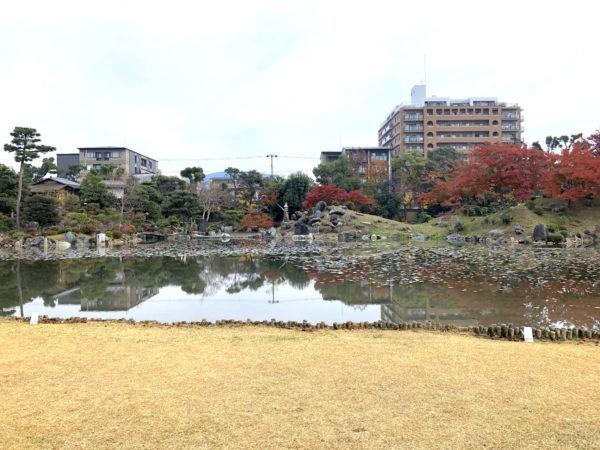 渉成園(枳殻邸庭園)
