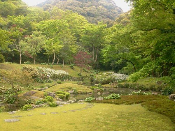 清水寺本坊庭園 / Kiyomizu-dera Temple Houbou Garden, Miyama, Fukuoka