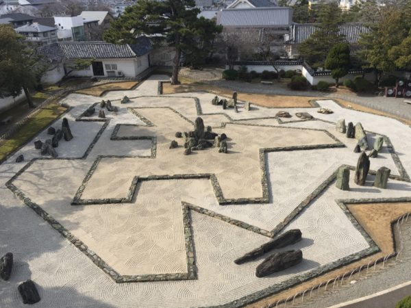 岸和田城庭園 八陣の庭 / Kishiwada Castle Garden, Kishiwada, Osaka