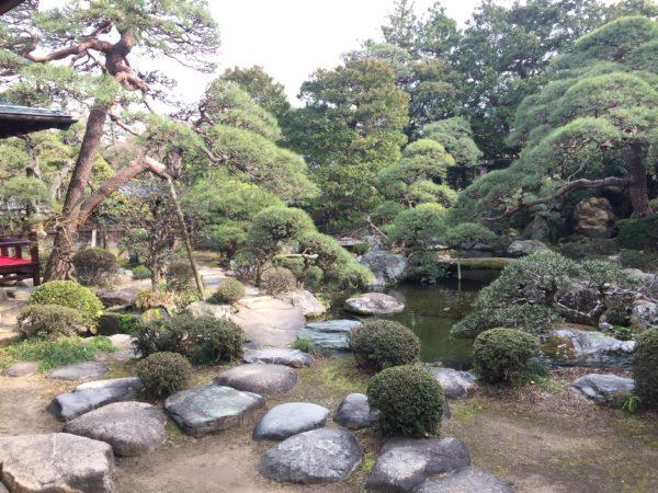 山本亭庭園