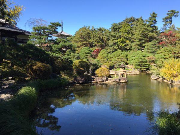 輪王寺庭園