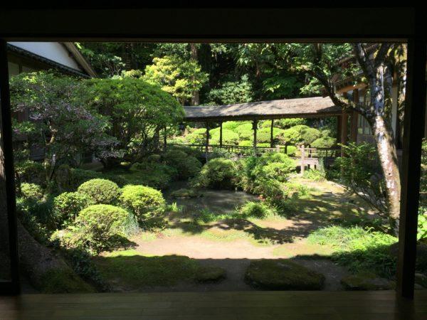 光久寺の茶庭 俯仰園 / Kokyu-ji Temple Tea Ceremony Garden, Himi, Toyama