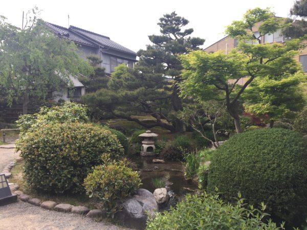 旧加賀藩士高田家跡庭園