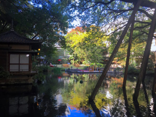 浮月楼庭園(徳川慶喜公屋敷跡)