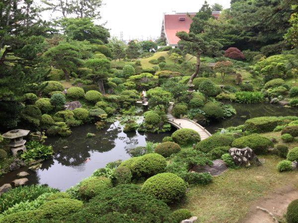 本間氏別邸庭園(鶴舞園) / Honma Art Museum Garden, Sakata, Yamagata