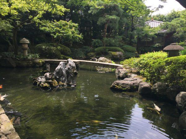御所西 京都平安ホテル庭園