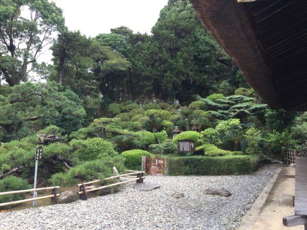 龍華寺庭園 観富園