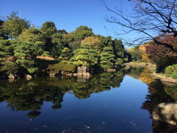 隅田公園(水戸徳川家小梅邸跡)