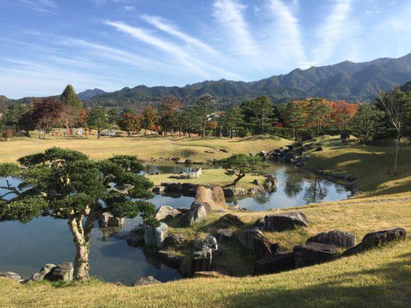 楽山園 / Rakusanen Garden, Kanra, Gunma
