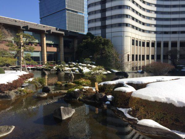 ホテルニューオータニ日本庭園(雪) / Hotel New Otani Tokyo Japanese Garden (Snow), Tokyo