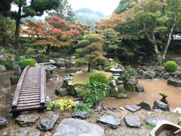 旧楠本正隆屋敷庭園