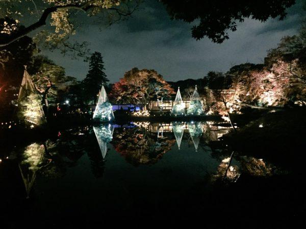 肥後細川庭園(ライトアップ)