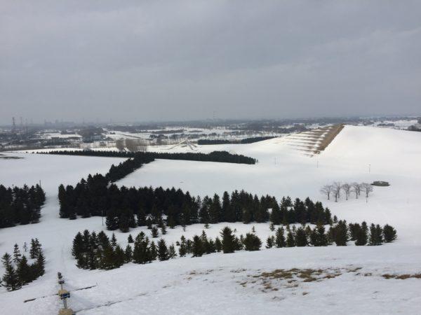 モエレ沼公園(雪)