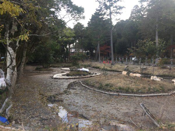 伊奈冨神社庭園 七島池