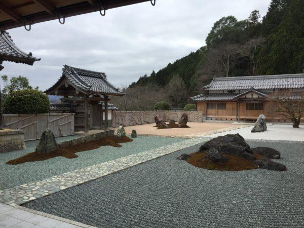 石像寺庭園 四神相応の庭