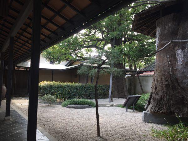 小平市平櫛田中彫刻美術館庭園