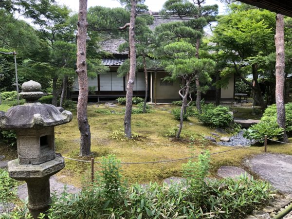 一条恵観山荘庭園