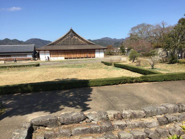 篠山城二の丸庭園・大書院