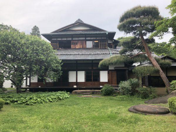 三井八郎右衞門邸庭園(江戸東京たてもの園)