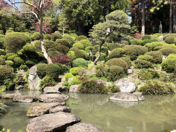 龍島院庭園