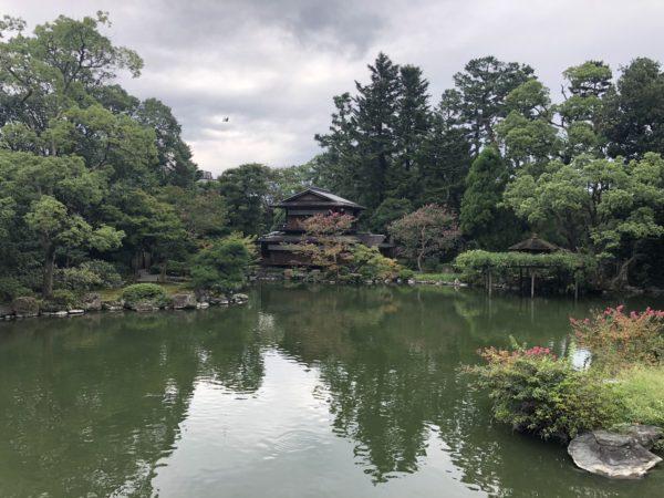 九條邸跡庭園(拾翠亭)