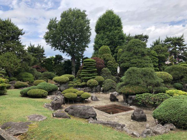 旧菊池氏庭園(弘前明の星幼稚園庭園)