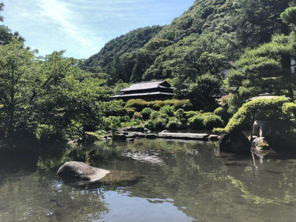 吉池旅館庭園(旧岩崎弥之助別邸和館)