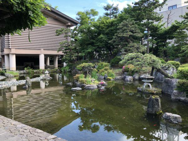 棟方志功記念館庭園