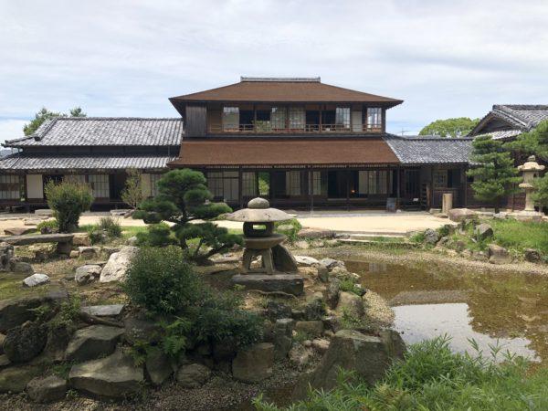 英雲荘(三田尻御茶屋)庭園