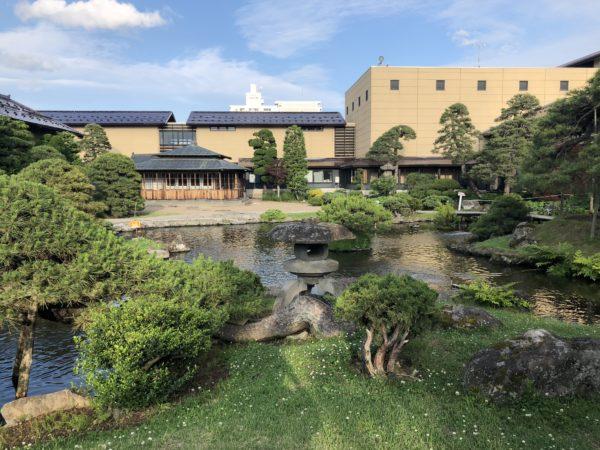 揚亀園(津軽ねぷた村) / Yokien Garden, Hirosaki, Aomori