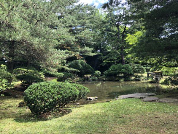 鳥潟会館庭園(旧鳥潟家住宅)